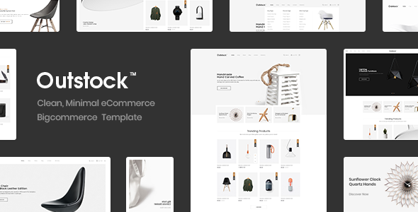 Outstock - Premium Responsive Furniture Bigccommerce Template