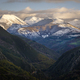 Highest Peaks covered by the first Snowfall of Autumn - PhotoDune Item for Sale