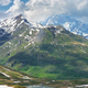 Amazing view of Scenic Alps near Little St Bernard Pass, Italy - PhotoDune Item for Sale