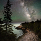 The Milky Way over Acadia National Park Maine - PhotoDune Item for Sale