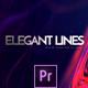 Elegant Lines Titles | Premiere - VideoHive Item for Sale