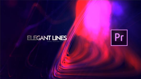 Elegant Lines Titles | Premiere