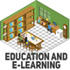 Isometric Education and E-Learning Kit - VideoHive Item for Sale