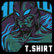 Fabulous Fighter T-Shirt Design