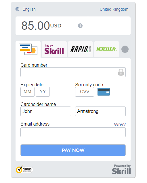 Skrill Payment Gateway for Perfex - 2