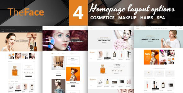 Theface - PrestaShop Theme for Beauty & Cosmetics Store
