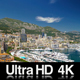 4K Monaco Ville Cityscape - VideoHive Item for Sale