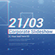 Clean Blue Corporate Slideshow - VideoHive Item for Sale
