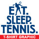 Tennis Vector T-shirt Graphic - Template - GraphicRiver Item for Sale