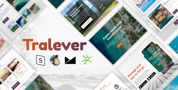 Tralever - Responsive Email Template with MailChimp Editor, StampReady & Online Builder