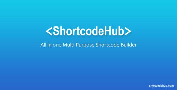 ShortcodeHub – MultiPurpose Shortcode Builder