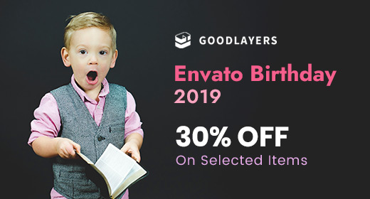 2019 Envato Birthday Discount