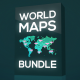 World Maps Bundle - VideoHive Item for Sale