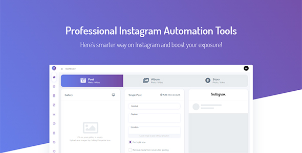 Instagram Automation Tools with Schedule - Autobot Instagram