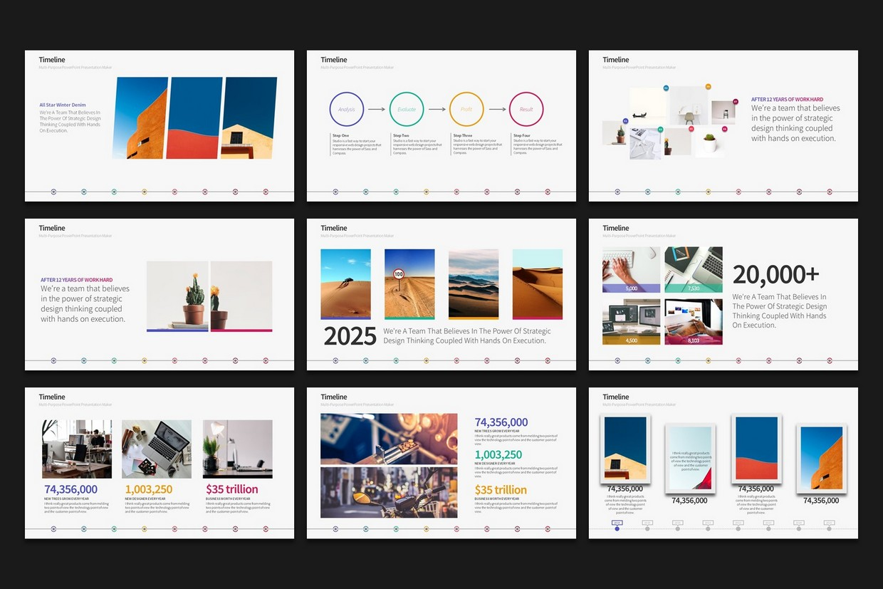 Warna Slides | Multi-Purpose PowerPoint Template - 2019 UPDATE