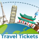 Online Tickets and Travel Services Logo - VideoHive Item for Sale