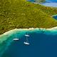 Luxury yacht in amazing bay of pure Greece Sea - PhotoDune Item for Sale