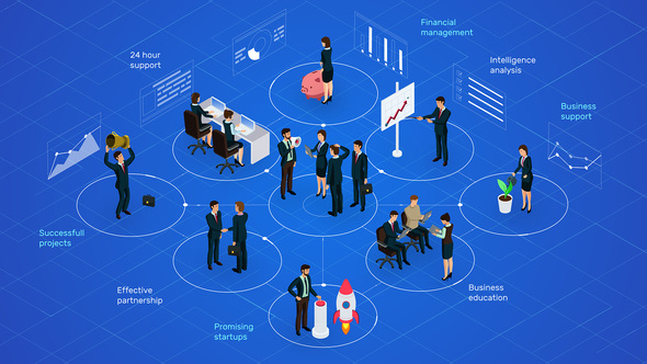 Business & Management Infographic And Concepts Download