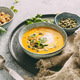 Pumpkin soup in a bowl - PhotoDune Item for Sale