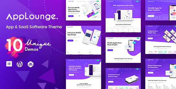 AppLounge - Multipurpose SaaS WordPress Theme
