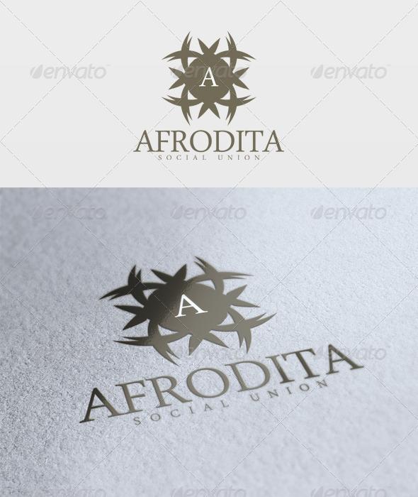 Afrodita Logo - Letters Logo Templates