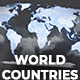 Map of World with Countries - Animated Map - VideoHive Item for Sale