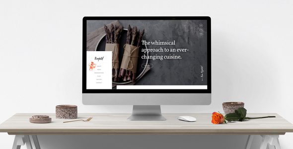 Berghoef – Contemporary HTML5 One-Page Restaurant Template