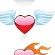 Heart icons - GraphicRiver Item for Sale