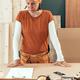 Self employed female carpenter planning DIY project - PhotoDune Item for Sale