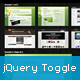 jQuery Card Toggle Plugin