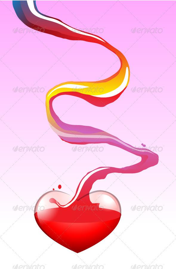 Colorful Love - Decorative Vectors