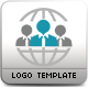People Connect Logo Template - GraphicRiver Item for Sale