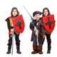 Kids in medieval knight and pirate costume - PhotoDune Item for Sale
