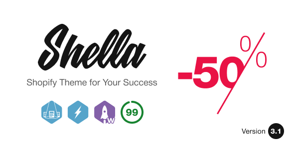 Shella - Ultimate Shopify theme, fastest with banner builder