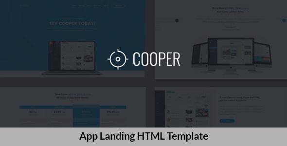 Great App Landing HTML Template