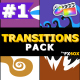 Funny Cartoon Transitions   FCPX - VideoHive Item for Sale