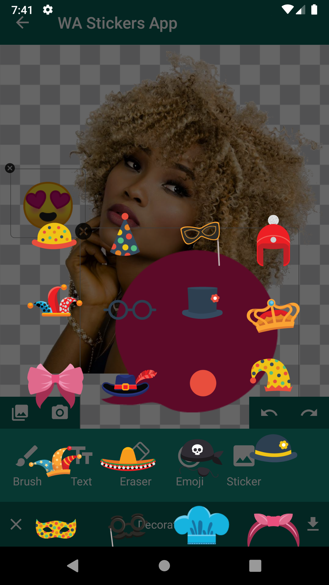 Emrys Online Android Stickers App for WhatsApp with Sticker Maker