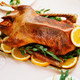 Roasted goose with oranges - PhotoDune Item for Sale