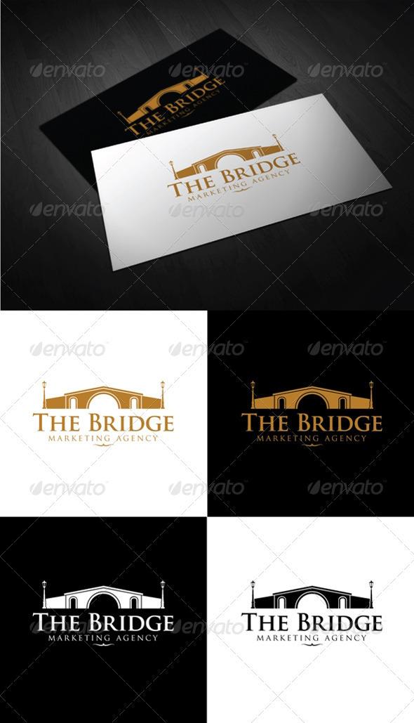 The Bridge - Buildings Logo Templates
