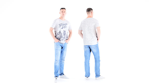 Man casual style 01