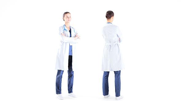 Female medical doctor 11