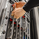 Male IT Consultant Removing Blade Server From Rack in Datacenter - PhotoDune Item for Sale