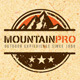 Mountain Pro Outdoor Creative Logo Template - GraphicRiver Item for Sale