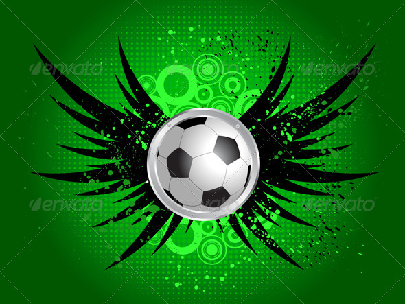 Download Grunge Football Background AI EPS Vector