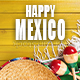 Happy Mexican Party Logo