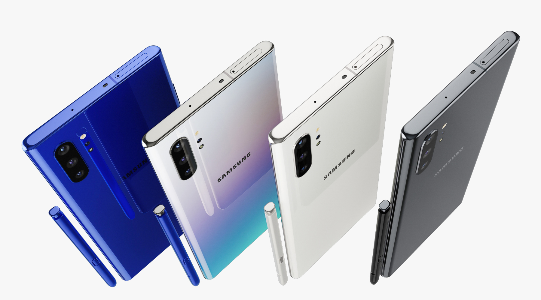 Samsung Galaxy Note 10 Plus All Colors By Madmix X 3docean