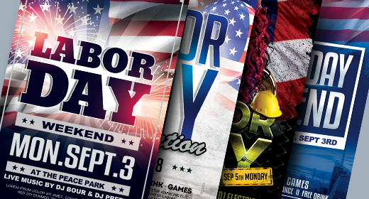 Labor Day Flyer Colection