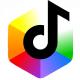 Futuristic Shapes Digital Logo