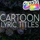 2D Cartoon Lyric Titles | FCPX - VideoHive Item for Sale