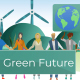 People Protest for Greener Earth and Renewable Energy Sources - VideoHive Item for Sale